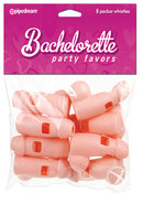 Bachelorette Party Favors Pecker Whistles - Vanilla