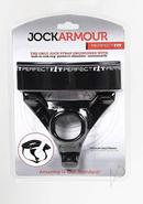 Perfect Fit Jock Armour Jock Strap Cockring Black Medium